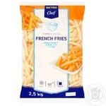 Metro Chef frozen french fries  2.5kg