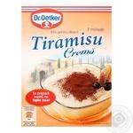 Dr.Oetker Tiramisu for desserts blend 60g