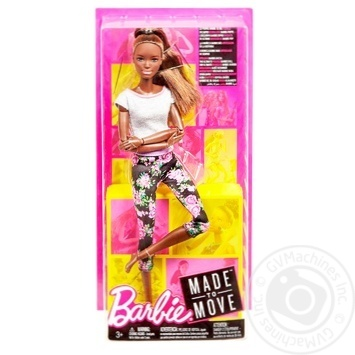 Barbie Move like I do Toy doll in stock - buy, prices for MegaMarket - image 1