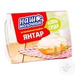 Сыр плавленый Наш Молочник Янтарь 160г
