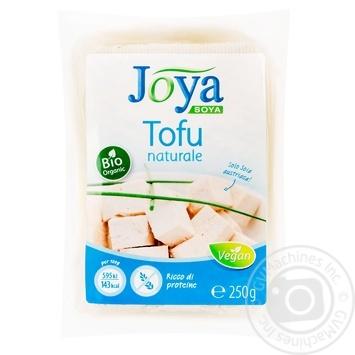 Сир соєвий Джоя Тофу звичайний 250г - купити, ціни на Novus - фото 1