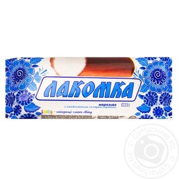 Laska Ice-Cream In Glaze 100g - buy, prices for Furshet - image 1
