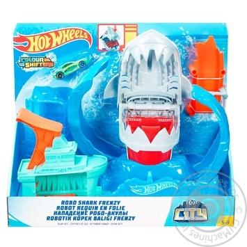 Игровой набор Hot Wheels Голодная Акула