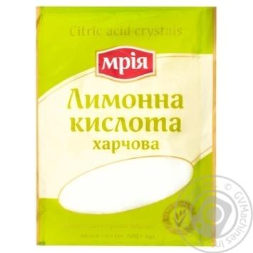 Лимонная кислота Мрия 100г - купить, цены на Метро - фото 1