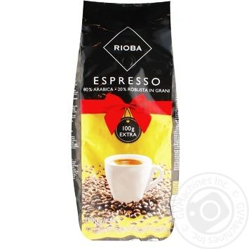 Кава Rioba Espresso смажений в зернах 1,1кг