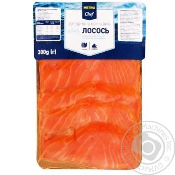 Лосось METRO Chef ломтиками холодного копчения 300г