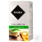 Чай Rioba зелений китайський байховий в пакетиках 25*2г - купити, ціни на Метро - фото 1