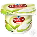 Йогурт Дольче двухслойный киви 3,2% 4х115г