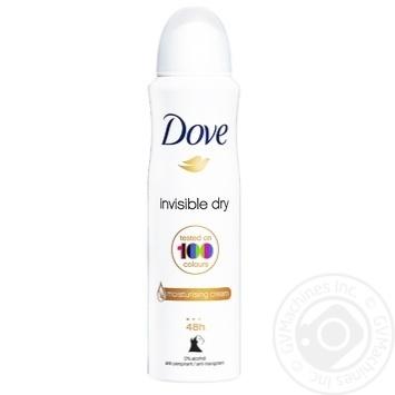 Антиперспирант Dove Невидимый аэрозоль 150мл - купить, цены на Novus - фото 1
