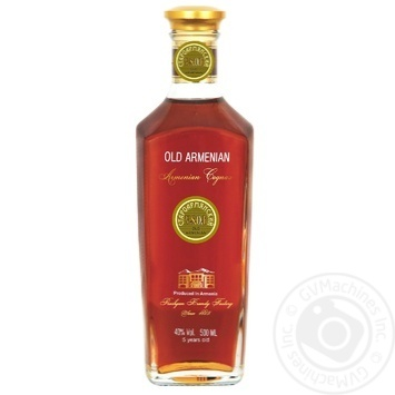 Old Armenian Cognac  VSOP 5 stars 40% 0,5l - buy, prices for EKO Market - photo 1