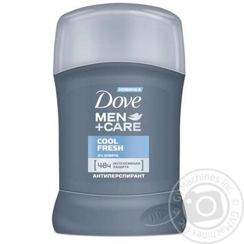 Антиперспірант Dove Men+Care Прохолодна свіжість 50мл - купити, ціни на Novus - фото 1