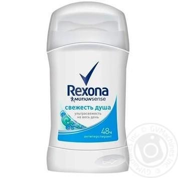 Антиперспирант Rexona Свежесть душа стик 40мл