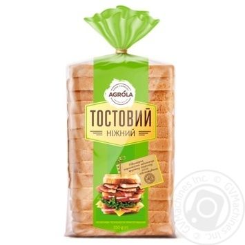 Agrola Toast Gentle Bread 350g