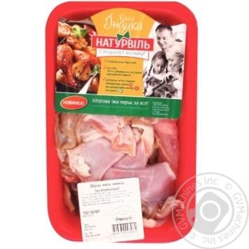 Обрезь мяса индейки Натурвиль охлажденная - купить, цены на Метро - фото 1