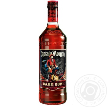 Ром Captain Morgan Dark 40% 1л - купить, цены на Novus - фото 1