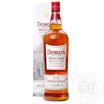 Виски Dewar's 40% 1л