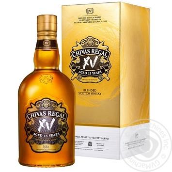 Виски Chivas Regal 15 лет в коробке 40% 0,7л - купить, цены на СитиМаркет - фото 1
