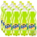 Fanta lemon carbonated beverage 1000ml