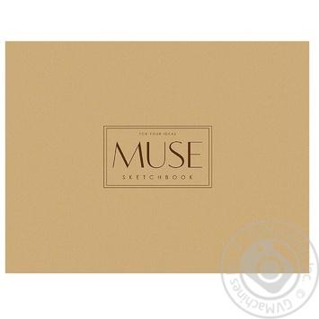 Блок паперу Muse Sketch A4 для ескізів 40 аркушів - купити, ціни на Метро - фото 1