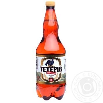 Пиво Тетерев светлое 1,2л - купить, цены на Фуршет - фото 2