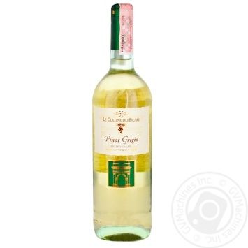 Le Colline dei Filari Pinot grigio Wine white dry 12% 0,75l - buy, prices for Metro - image 1