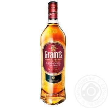 Grant's Family Reserve Blended Scotch Whisky 40% 0,5l - buy, prices for CityMarket - photo 1