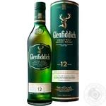 Виски Glenfiddich 12 лет 40% 0,7л