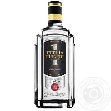 Persha Gildiya Znatna Premium Vodka 40% 0,7l - buy, prices for Novus - image 1