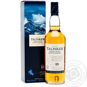 Виски Talisker 10 лет 45,8% 0,7л - купить, цены на СитиМаркет - фото 1