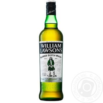 Віскі William Lawson's 40% 0,7л - купити, ціни на МегаМаркет - фото 1