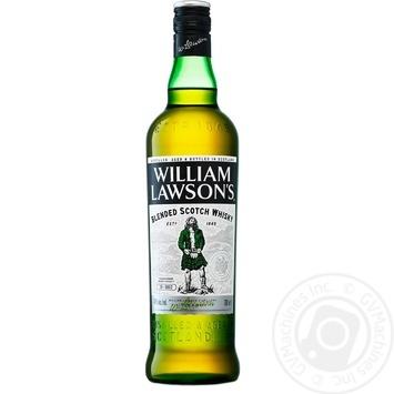 Виски William Lawson's 40% 1л