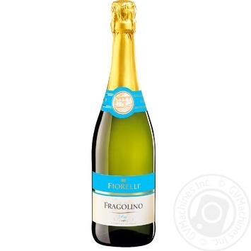 Вино игристое Fiorelli Fragolino Dry белое сухое 7% 0,75 - купить, цены на Novus - фото 1