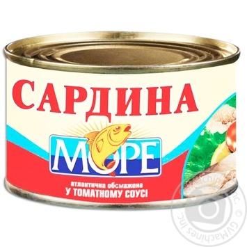 Бычки Море в томатном соусе 230г - купить, цены на Фуршет - фото 3
