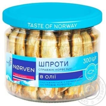 Шпроты Norven в масле 300г