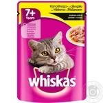 Whiskas Cat food chicken with sauce 100g