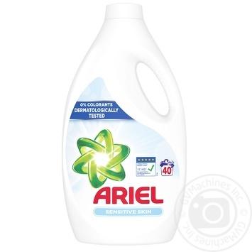 Гель для стирки Ariel для чувствительной кожи 2,2 л