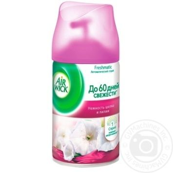 Air Wick Freshmatic Replaceable aerosol can Tenderness of silk and lilies 250ml - buy, prices for MegaMarket - image 1