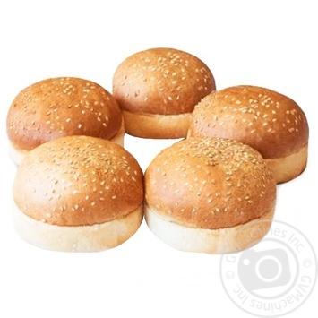 Булочка Рома для гамбургера 300г - buy, prices for Auchan - photo 1