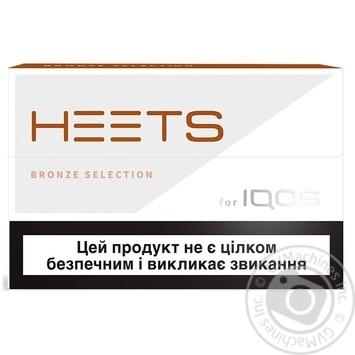 Табачное изделие Heets Bronze