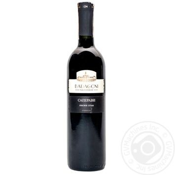 Вино Badagoni Сапераві червоне сухе 13% 0,75л - купити, ціни на Novus - фото 1