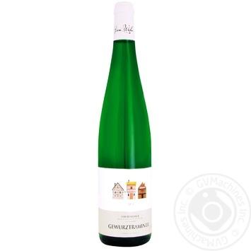 Вино Henri Weber Gewurztraminer белое сухое 12% 0,7л