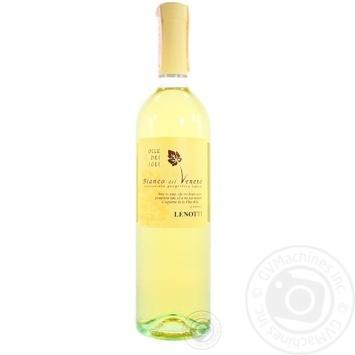 Вино Lenotti Colle dei Tigli Bianco del Veneto белое полусухое 12,5% 0,75л