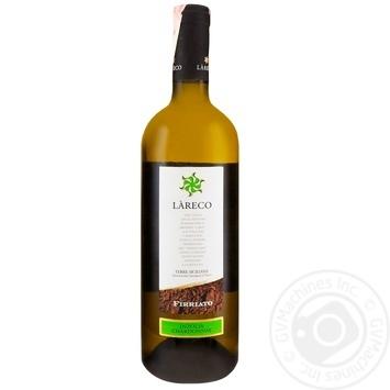 Вино Lareco Инзолия-Шардоне белое полусухое 12,5% 0,75л