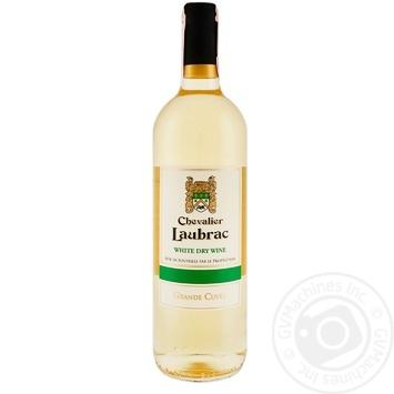 Вино Chevalier Laubrac Grande Cuvee белое сухое 11% 0,75л - купить, цены на Метро - фото 1
