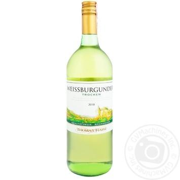 Вино Thomas Rath Weissburgunder біле сухе 11,5% 1л