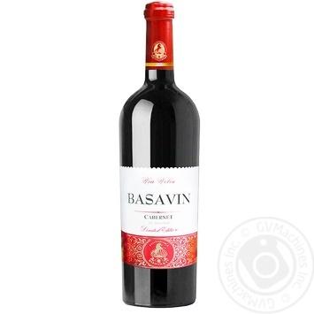 Basavin Gold Cabernet Sauvignon Red dry 13% 0,75l