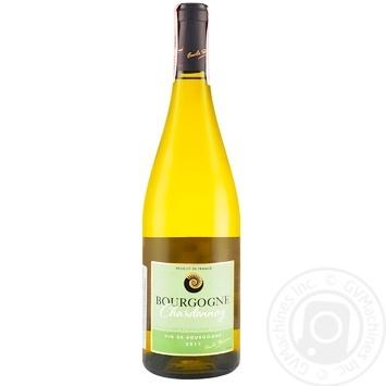 Вино Эмиль Дюран Бургунд шардоне белое сухое 12.5% 0,75л