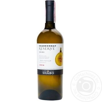 Shabo Chardonnay Reserve white dry wine 13% 0,75l - buy, prices for Auchan - photo 2