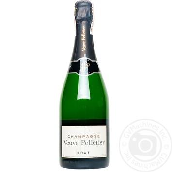 Шампанское Veuve Pelletier брют 12.5% 0,75л
