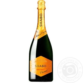 Shabo Sparkling wine semi-sweet 10,5% 0,75l - buy, prices for Tavria V - image 1